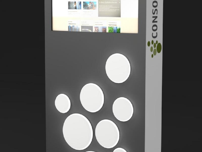 09_CONSORTIUM_Totem-monitor-e-bolli-luminosi