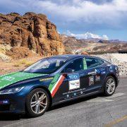 80edays-Tesla-Team-Italia_Route 66-Las Vegas