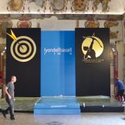 Allestimento convegno Lyondellbasell Castello degli Estensi Ferrara_002