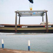 Decorazione barca Goppion_vista laterale completa