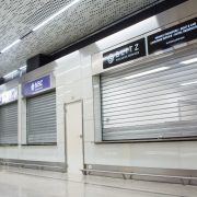 Biglietterie presso l'Aeroporto di Venezia_insegne luminose