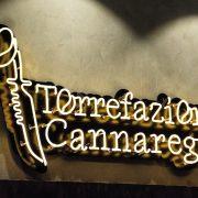 Torrefazione Cannaregio_insegna luminosa a filo neon