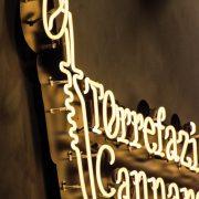 Torrefazione Cannaregio_dettaglio insegna luminosa a filo neon