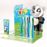 Amway_espositore da banco spazzolini e dentifricio Glister Kids