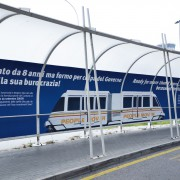Decorazione Pensilina People Mover_Aeroporto di venezia