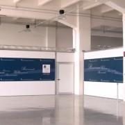 Decorazione paratie Venezia Terminal Passeggeri VTP