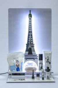 Counter Display Torre Eiffel Led