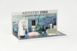 Espositore da banco Artistry Studio