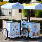 Acqua Minerale San Benedetto_decorazione carretto refrigerato Gardaland