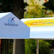 Acqua Minerale San Benedetto_dettaglio decorazione tettuccio carretto refrigerato Gardaland