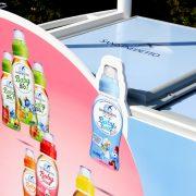 Acqua Minerale San Benedetto_dettaglio decorazione carretto refrigerato Gardaland