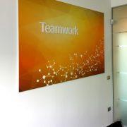 Zucchetti Software_allestimento parete ufficio 3