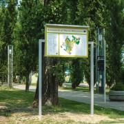 Insegna Parco Albanese Mestre Venezia