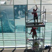 Save_decorazione vetrate 50esimo anniversario