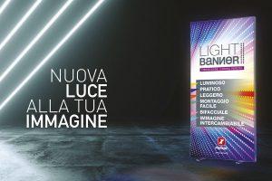 LIGHT BANNER, L'ESPOSITORE CHE FA EMERGERE DAVVERO LA TUA PUBBLICITA'